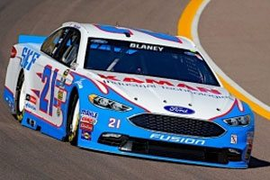 Blaney Qualifies Eighth At Phoenix In No. 21 SKF/KAMAN Ford Fusion