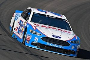 Late-Race Surge Lifts Blaney, No. 21 SKF Ford Fusion To Eighth at Phoenix