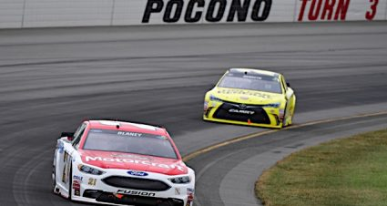 Blaney Finishes 11th In Fog-Shortened Race At Pocono