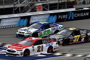 Blaney Finishes 15th At Michigan As Playoff Berth Is Secured