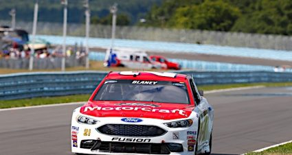 Blaney Finishes 19th In Long Day At The Glen