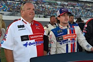 Blaney Leads The Way For Ford In Kentucky Qualifying