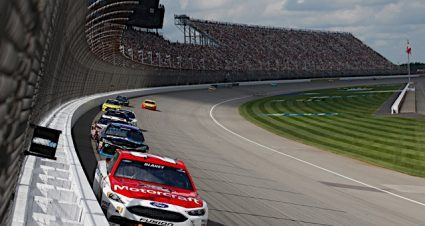 Blaney, Motorcraft/Quick Lane At Their Best In Finishing Fourth At Michigan