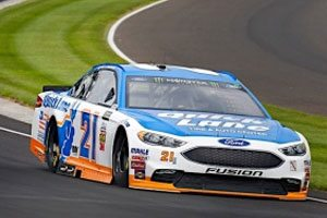 Blaney Puts Quick Lane Ford Fusion Among The Top 10 In Indy Qualifying