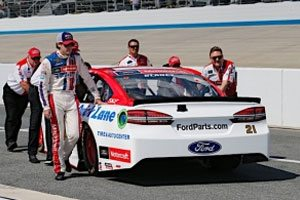 Blaney Qualifies 15th At Dover