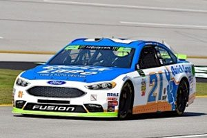 Blaney Qualifies Ninth At Talladega
