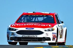 Blaney Qualifies Seventh At Sonoma