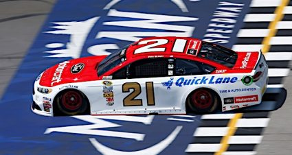Blaney Qualifies Seventh For The Pure Michigan 400