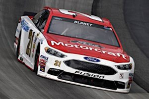Blown Tire Makes Long Day Even Longer For Blaney