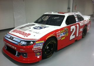 Charlotte Paint Scheme Honors Glen Wood's Last Winning Ride