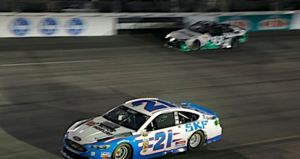Early Wreck Relegates Blaney, SKF Ford Team to a 39th-Place Finish at Richmond