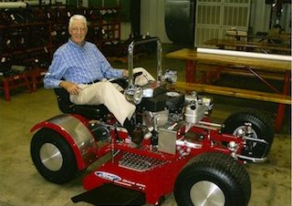 Leonard Wood's Lawn Mower Is A Mechanical Marvel