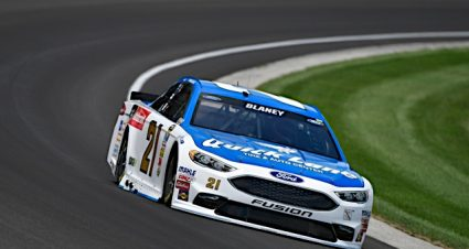 No Breaks For Blaney In Long Day At Indy