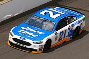 Quick Lane Sponsorship A Good Fit For The No. 21 Fusion At Talladega