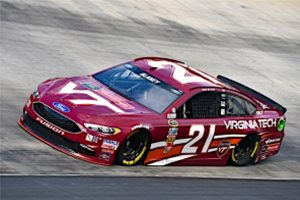 The No. 21 Virginia Tech Ford Fusion Will Be The Home Team At Martinsville