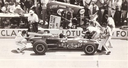 Wood Brothers Appearance with 1965 Indy-Winning Lotus at Goodwood Festival of Speed