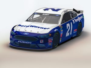 Wood Brothers No. 21 Ford Fusion to Carry BorgWarner Colors at Texas Motor Speedway