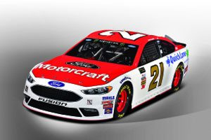 Motorcraft/Quick Lane Will Return to Famed Wood Brothers Racing No. 21 Ford Fusion in 2018 with New Driver Paul Menard