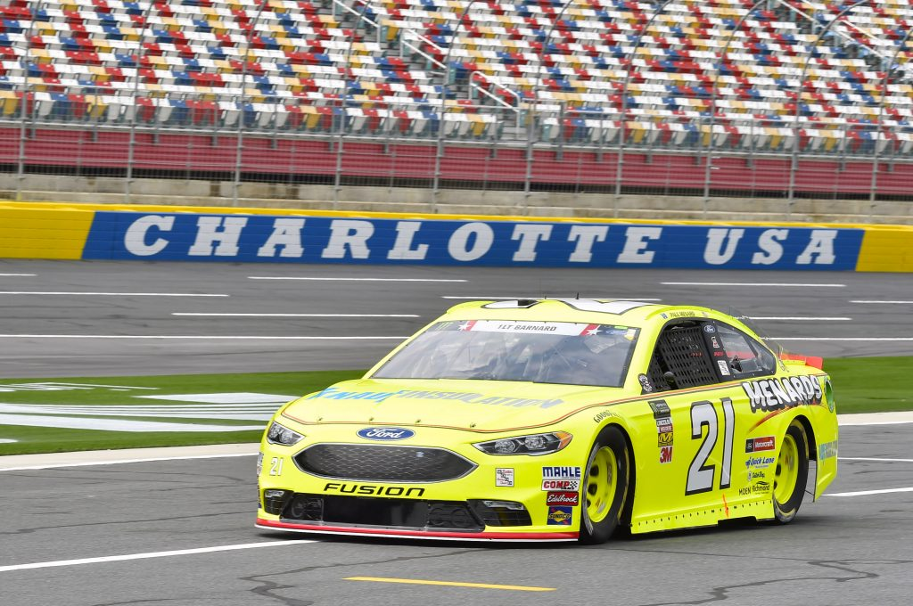 after disappointing practice session menard qualifies 14th at charlotte wood brothers. Black Bedroom Furniture Sets. Home Design Ideas