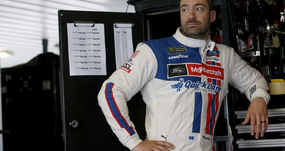 #21: Paul Menard, Wood Brothers Racing, Ford Fusion Motorcraft / Quick Lane Tire & Auto Center