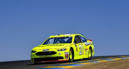 Menard Qualifies 15th at Sonoma