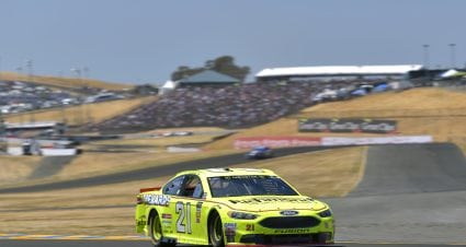 Menard Finishes 26th On Disappointing Day At Sonoma