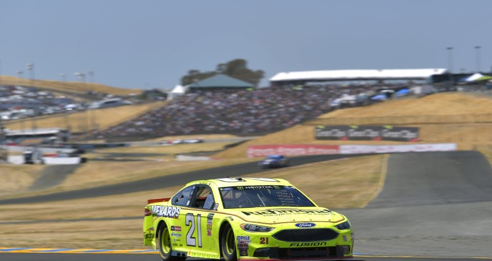 #21: Paul Menard, Wood Brothers Racing, Ford Fusion Menards / Richmond