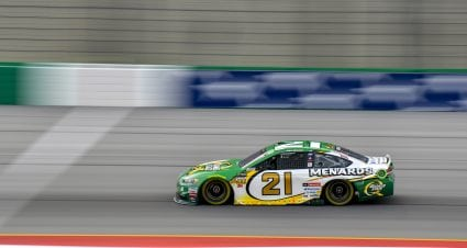 Playoff Picture Improves For Menard After 11th Place Finish In Quaker State 400 At Kentucky