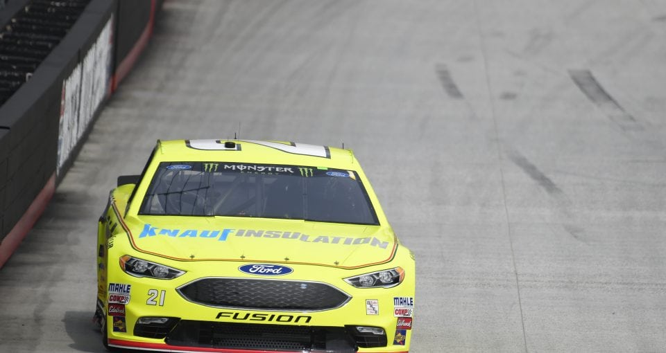 #21: Paul Menard, Wood Brothers Racing, Ford Fusion Menards / Knauf