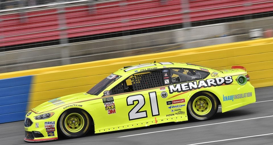 Menard Looking Forward To Racing Under The Lights At Bristol