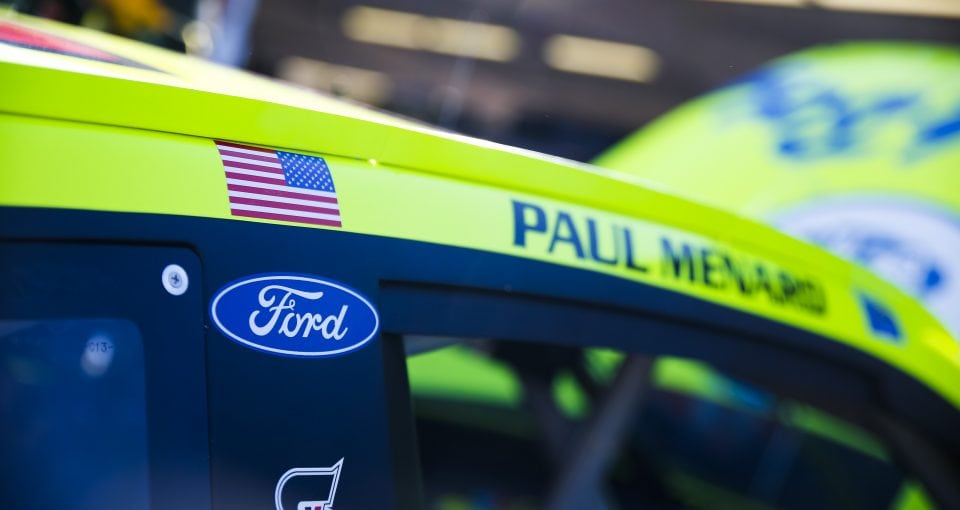 Monster Energy NASCAR Cup SeriesTicketGuardian 500ISM Raceway, Phoenix, AZ USAFriday 9 March 2018Paul Menard, Wood Brothers Racing, Ford Fusion Menards / Dutch BoyWorld Copyright: Barry CantrellNKP