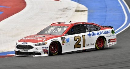 Menard Qualifies 22nd For Inaugural Roval Race At Charlotte