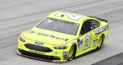 Menard Set To Start 18th At Dover After Rain Cancels Qualifying