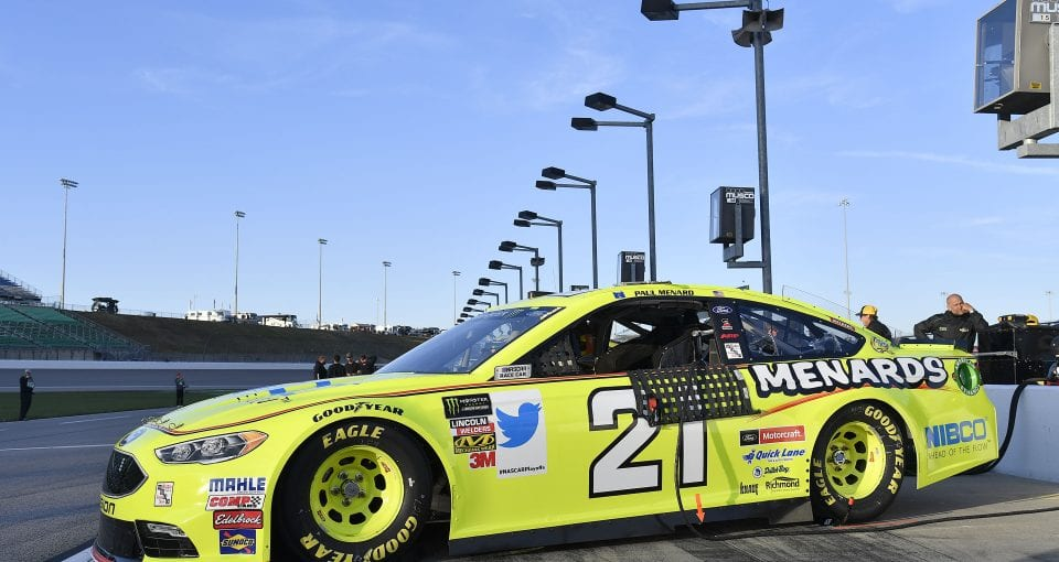 #21: Paul Menard, Wood Brothers Racing, Ford Fusion Menards / NIBCO