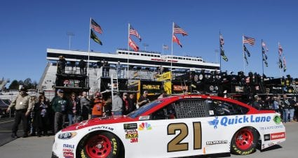 Menard Gets Fresh Engine For Sunday's First Data 500 at Martinsville