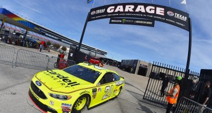 Menard Qualifies 11th At Texas As Ford Places Eight Drivers In The Top 12