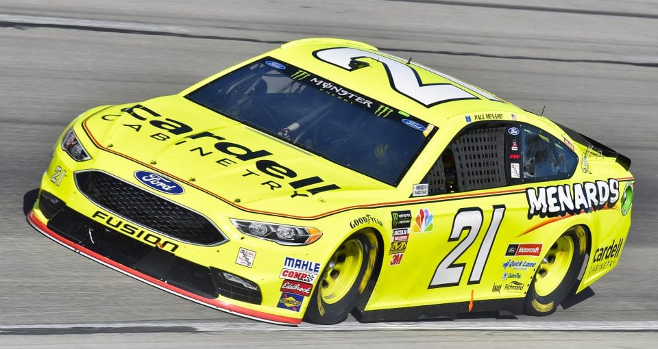 #21: Paul Menard, Wood Brothers Racing, Ford Fusion Menards / Cardell