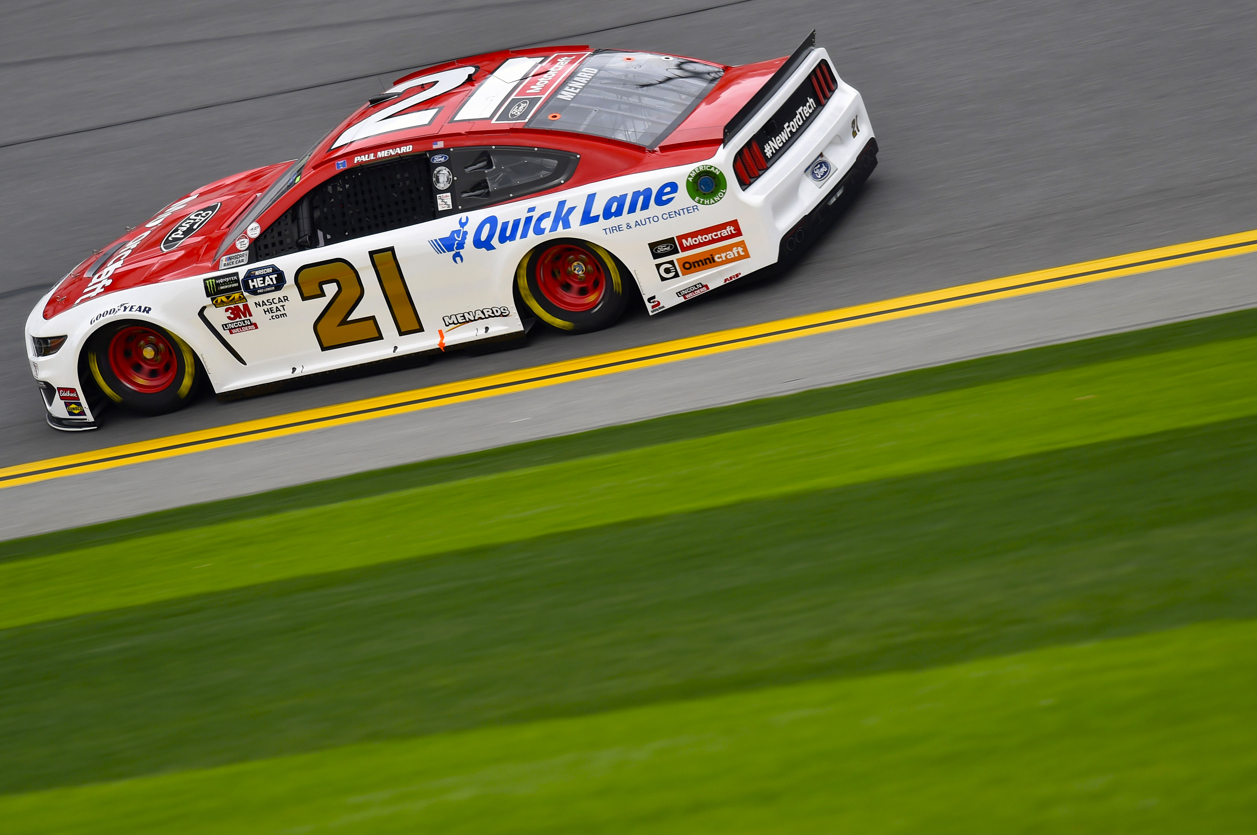 Monster Energy NASCAR Cup Series - Wood Brothers