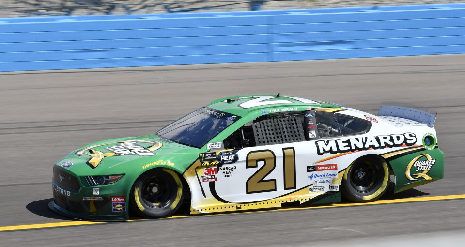Menard Set To Start 17th At ISM Raceway - Wood Brothers