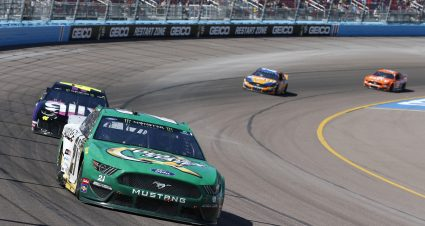 Menard Finishes 17th At ISM Raceway