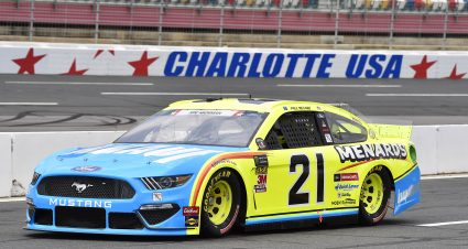 Menard Qualifies 17th At Charlotte