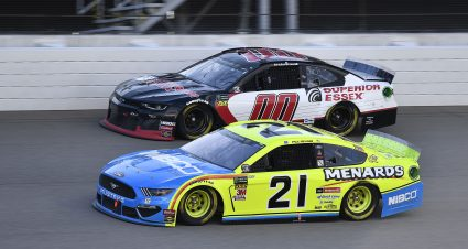 Menard Finishes 13th At Michigan