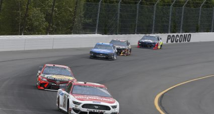 Menard Finishes 18th At Pocono