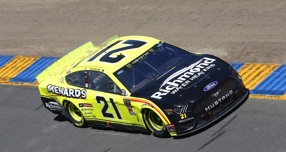 #21: Paul Menard, Wood Brothers Racing, Ford Mustang Menards / Richmond