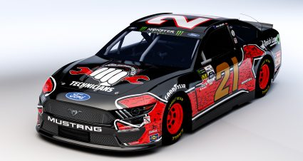 Ford Honors the First Class of 20-Year Senior Master Technicians with Wood Brothers Racing's Paint Scheme