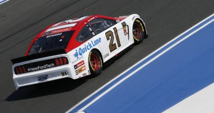 Menard Qualifies 10th On The ROVAL At Charlotte