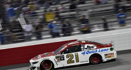 Menard Finishes 28th At Richmond