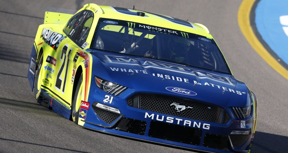 #21: Paul Menard, Wood Brothers Racing, Ford Mustang Menards / Maytag