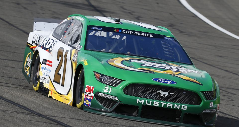 #21: Matt DiBenedetto, Wood Brothers Racing, Ford Mustang Menards / Quaker State