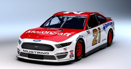 DiBenedetto Ready For First Ride In The Motorcraft/Quick Lane Mustang